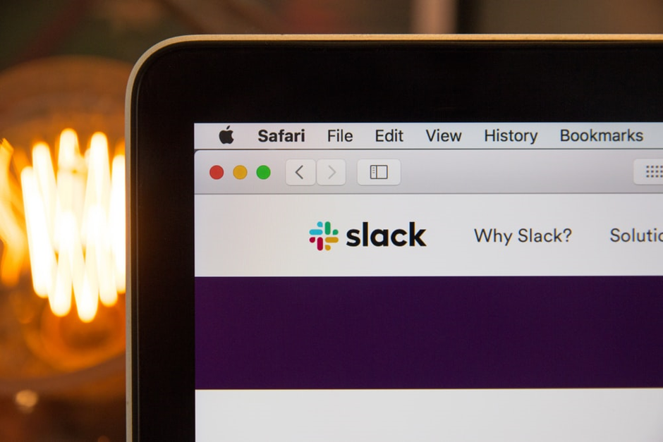 Working remotely with Slack